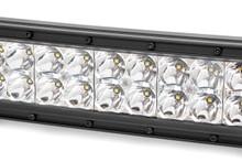 12-IN Cree LED Light Bar (Dual Row / Chrome Series w/ Cool White DRL)