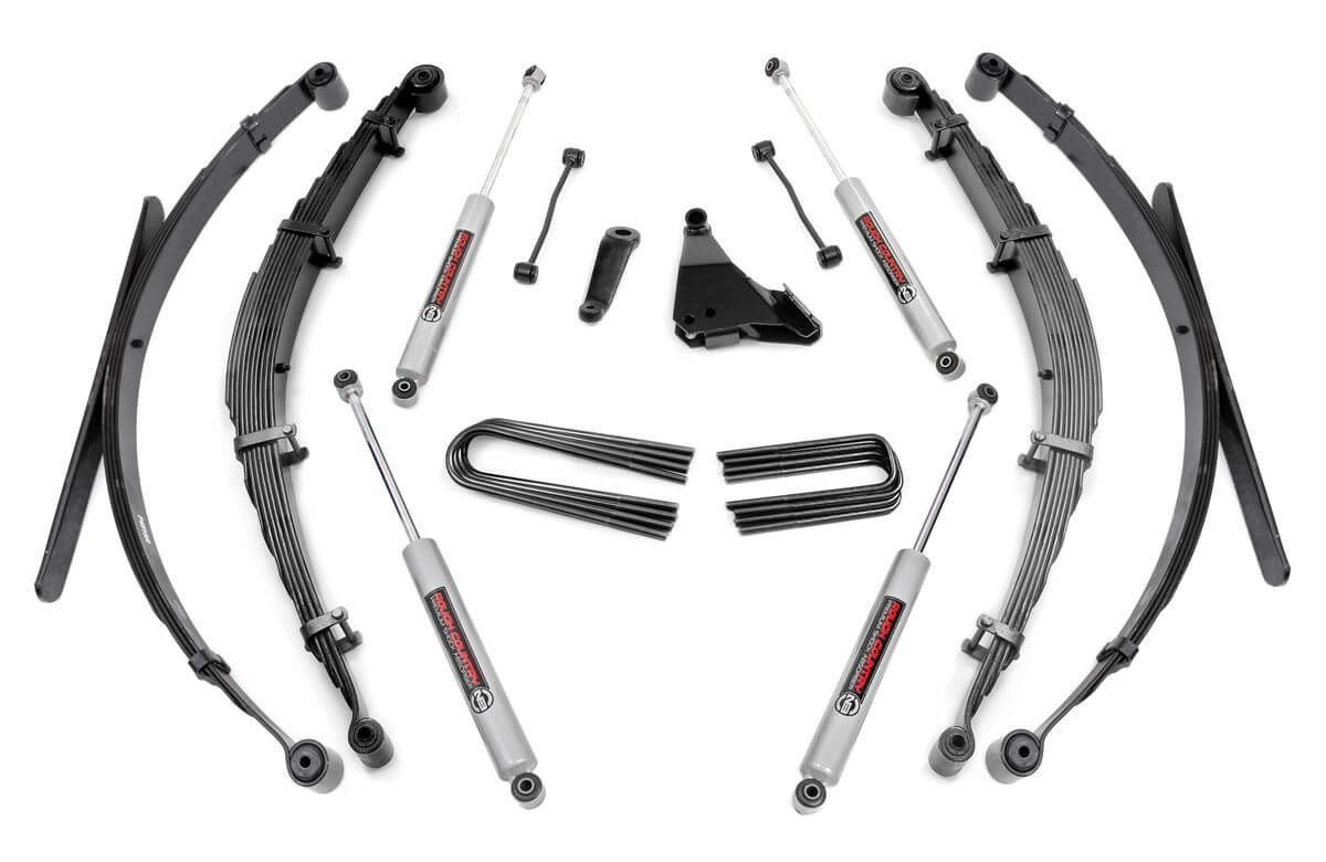 6in Ford Suspension Lift System (1999 Ford F250/F350 Super