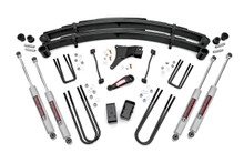 6in Ford Suspension Lift Kit (1999 Ford F250/F350 Super Duty 4WD)with N3 Shocks