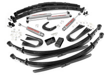 6in GM Suspension Lift System (56in Rear Springs)(1977-87 Chevy/GMC)(3/4-Ton Pickup/3/4-Ton Suburban)