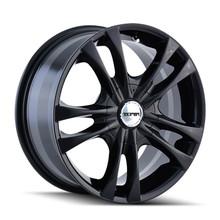 Touren TR22 Black 15X7 5-100/5-114.3 40mm 72.62mm