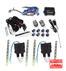 AVS Shaved Door Kit Universal w/Wiring Harness & 8 Channel Remote