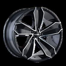Touren TR71 Gloss Black/Machined Face 20X10 5-114.3 40mm 72.62mm