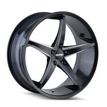 Touren TR70 Black/Milled Spokes 17X7.5 5-120 40mm 74.1mm