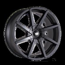 Mazzi 369 Kickstand Matte Black 20x8.5 5-115/5-120 18mm 74.1mm