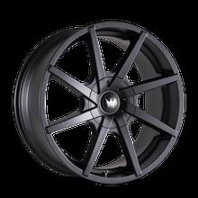 Mazzi 369 Kickstand Matte Black 20x8.5 5-112/5-120 35mm 74.1mm
