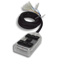 AVS ARC-7 Air Ride Clear w/LED Lights Switch Box