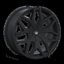 Mazzi 367 Profile Matte Black 24x9.5 6-135/6-139.7 30mm 106mm