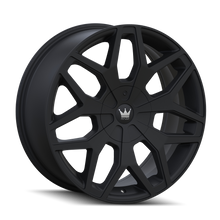 Mazzi 367 Profile Matte Black 22x9.5 6-135/6-139.7 30mm 106mm