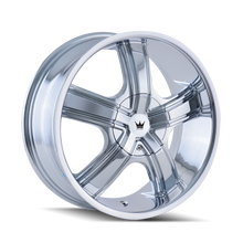 Mazzi 359 Boost Chrome 20X8.5 5-110/5-115 35mm 72.62mm