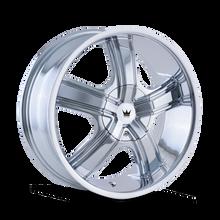 Mazzi 359 Boost Chrome 20X8.5 5-112/5-120 35mm 72.62mm