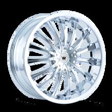 Mazzi 351 Chrome 18X7.5 4-100/4-114.3 40mm 67.1mm