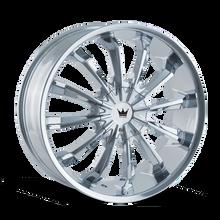 Mazzi 341 Fusion Chrome 24X9.5 5-127/5-139.7 18mm 87mm