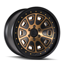 Mayhem Flat Iron Matte Black w/ Bronze Tint 20x9 6-135 0mm 87.1mm