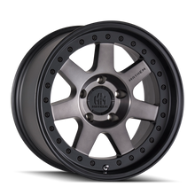 Mayhem Prodigy 8300 Matte Black w/ Dark Tint 18x9 8-170 00mm 130.8mm