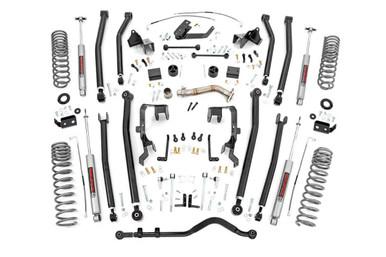 4in Jeep Long Arm Suspension Lift Kit (07-18 Wrangler JK | 4-door)