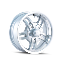 Ion Trailer Wheels 12 Hypersilver 15X6 6-139.7 0mm 108mm