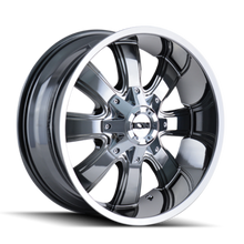 ION 189 PVD2 Chrome 18X9 6-135/6-139.7 -12mm 108mm