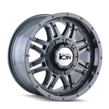 ION 186 Gunmetal 18X9 8-180 25mm 124.1mm