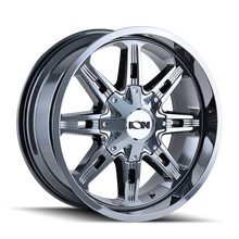 Ion 184 PVD2 Chrome 17X9 5-127/5-139.7 -12mm 87mm
