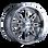 Ion 184 PVD2 Chrome 17X9 8-165.1/8-170 -12mm 130.8mm