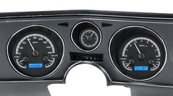 1969 Chevy Chevelle/El Camino VHX Instruments w/ Analog Clock