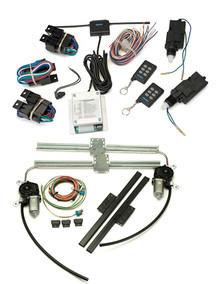 Commander 10K Ten-Function Remote Entry System w/ 2 10lb Actuators & Power Window Kit