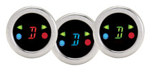 Round Digital Gear Shift Indicator w/ Indicators