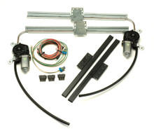 Power Window Kit for Flat Panel Glass