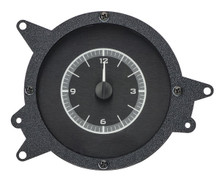 1969-70 Ford Mustang Analog Clock Black Alloy Background