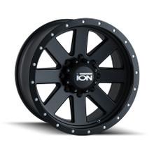ION 134 Matte Black/Black Beadlock 17X8.5 6-139.7 -6mm 106mm