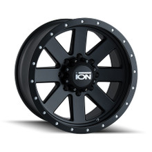ION 134 Matte Black/Black Beadlock 18X9 8-170 0mm 130.8mm