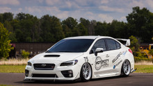 2015-2019 Subaru STI /WRX Air Lift Kit with Manual Air Management - side view
