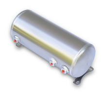 "Air Tank- 3 Gallon Aluminum w/2-1/4"" Ports & 1-1/8"" Port"