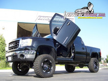 Vertical Doors 2007-UP GMC SIERRA  Bolt on Lambo Door Kit