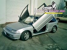 1988-1991 HONDA CIVIC/CRX Bolt on Lambo Door Kit (Hatch Back / 4 Door)