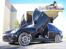 2003-2007 INFINITI G35 SEDAN Bolt on Lambo Door Kit (4 Door)
