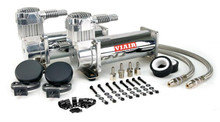 Viair 12v 444C Air Compressor Chrome Dual Pack