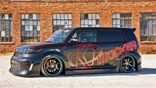 """08-10 Scion xB AirLift Kit With 4-Way Manual 1/4"""" Air Management"""