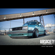 85-98 VW MKII AirLift Kit w/ Manual Air Management