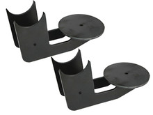 """Behind & Under Axle Bag Brackets 2.75"""" Axle (pair)"""