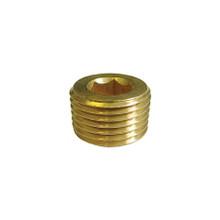 Brass Pipe Plug Allen 1/2 Npt