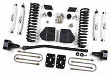 "2011 F250,F350 Super Duty Diesel 4WD w/o Top Overload Springs 4"" Lift"