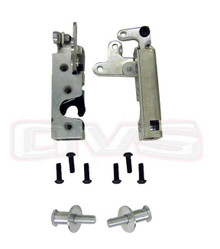 Small Heavy Duty Single Claw Door Latches w/Striker Bolts (PAIR)
