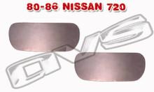 80-86 Nissan 720 AVS Door Handle Filler Plate