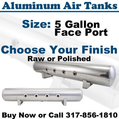 Air Lift 11956 Aluminum Air Tank polished or raw