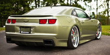 2010-2014 Chevrolet Camaro Air Lift Kit with Manual Air Management- Back/Side View