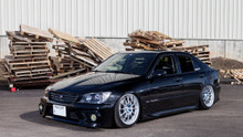 98-05 Lexus GS Series Air Lift Kit with Manual Air Management- Front/Side View