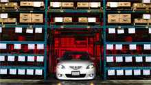 2004-2009 Mazda3 Air Lift Kit with Manual Air Management- Front View