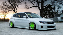2008-2014 Subaru Impreza Air Lift Kit with Manual Air Management- Side View